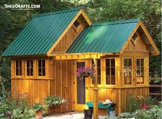 Below are a few 8x10 gable backyard shed plans blueprints for installing a sturdy garden shed on your patio. Complete drawings of roof layout, wall frames and floor layout are furnished down. It can show you how to assemble your building fast and inside a sensible cost margin. 8x10 Gable… Wood Shed Plans, Shed Building Plans, Diy Shed Plans, Storage Shed Plans, Storage Ideas, Diy Storage, House Building, Barn Plans, Building Ideas