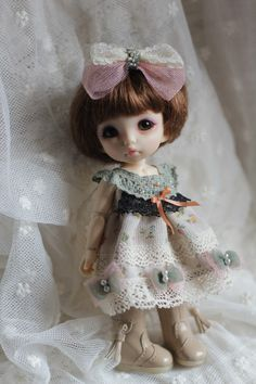 Dress  for Pukifee or Lati Yellow by AngelGardenByChilly on Etsy