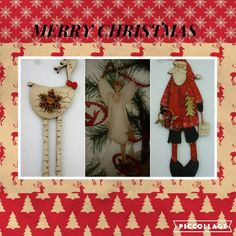 Theodora Cleave designer of buttons & decorations, stitcheries and etc etc. Button Decorations, Christmas Stuff, Christmas Stockings, Merry, Collage, Holiday Decor, Crafts, Design, Christmas Things