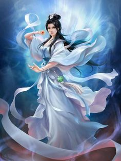 Xu Qing, Meng Hao's love interest in I Shall Seal the Heavens. Xianxia.