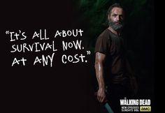 "Rick Grimes quote - The Walking Dead season 5, episode 12 ""Remember"""