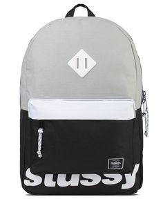 Stussy x Herschel Supply Co. - Sport Backpack (Black)