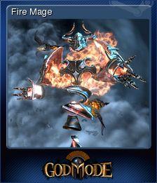 Cromo de Steam «Fire Mage» de God Mode