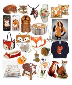 """Foxie Loxie"" by peridot11871 ❤ liked on Polyvore featuring Casetify, Gabriella Rocha, Palm Beach Jewelry, Bertha, Liska, Joy Everley, Forever 21, John Lewis, Orwell and Goode and Miss Selfridge"