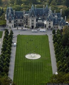 Biltmore Estate - Aerial Photo of Biltmore House