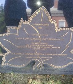 Five of these markers were placed throughout the Howard University campus to commemorate the  Centennial Anniversary of Alpha Kappa Alpha Sorority, Incorporated in 2008.