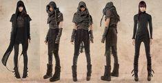 Apocalyptic fashion, dystopian fashion, post-apocalyptic fashion, apocalypse, post-apocalypse, demobaza