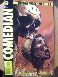 Issue 5 of the Comedian line.
