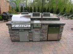 outdoor kitchen modular antique island 168 best units images kitchens kits