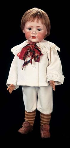 "*'BABY JEAN"": German Bisque Toddler, 247, by: Kestner in Large Size. Bisque. Marks: P made in Germany 19 JDK 247 19. Comments: Kestner, c.1914."