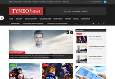 ST Tyneo is a magazine joomla temlate with flexible layout, clean design and full responsive.