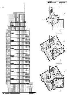 Price Tower, Bartlesville, Oklahoma, Frank Lloyd Wright, 1952-56