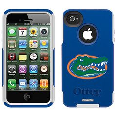 University of Florida - Gator Head Florida design on OtterBox® Commuter Series® Case for iPhone 4 / 4S in Blue