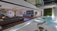 T-1 is a modern residential project in Los Angeles, California completed by McClean Design via @HomeDSGN.