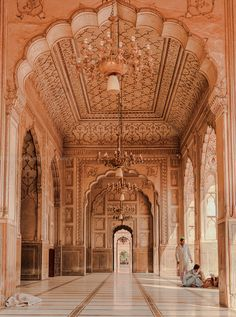 https://flic.kr/p/N9k37o | 0W6A8190 | Badshahi Mosque Interior  Lahore Punjab Pakistan The Badshahi Mosque (Punjabi, Urdu: بادشاہی مسجد‎, or Imperial Mosque) is a Mughal era mosque in Lahore, capital of the Pakistani province of Punjab. The mosque is located west of Lahore Fort along the outskirts of the Walled City of Lahore.  The mosque was commissioned by the Mughal Emperor Aurangzeb in 1671, and completed in 1673. Upon completion, it became world's largest mosque and remained so for 313…