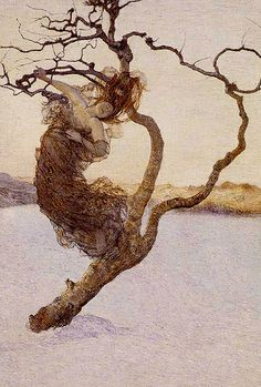 Xavier Mellery, Chute des Dernières Feuilles d'Automne, 1893 | Flickr ...