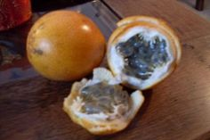 Granadilla (Sweet) Colombian tropical South American fruit