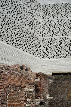 Peter Zumthor. Old and new. Building upon the old, not destroying it. I like that idea.