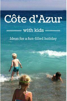 Côte dAzur France with children