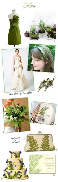 Sweet Violet Bride - Fern Wedding Inspiration