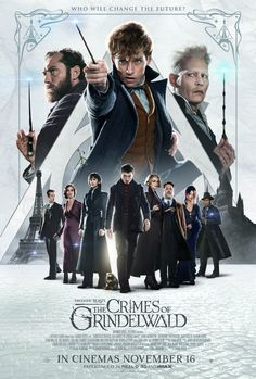 Fantastic beasts: Grindelwald's crime holds another new poster . - Harry Potter & Phantastische Tierwesen - Alles zur Wizarding World! Harry Potter 3, Harry Potter Universal, Gellert Grindelwald, Crimes Of Grindelwald, Alison Sudol, The Beast, Fantastic Beasts Movie, Fantastic Beasts And Where, Harry Potter Movies