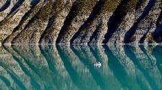 Lac de Castillon, Saint-André-les-Alpes, Alpes-de-Haute-Provence