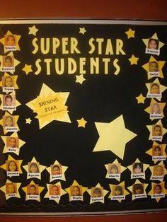 Cricut Ideas For Teachers - Bing Images - Super Star Students Existen algo mejor que Star Themed Classroom, Stars Classroom, Classroom Bulletin Boards, Classroom Themes, Star Bulletin Boards, Bulletin Board Display, Star Student Board, Cricut Ideas, Teaching Vowels