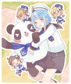 Shining Star, Ensemble Stars, Pastel Goth, My Idol, All Star, Anime, Fan Art, Boys, Cute