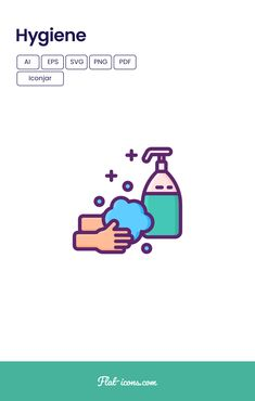Looking for hand washing, washing hands or clean hands SVG, vector icons? Then download the Hygiene Icon Set. These modern & stylish hygiene vector icons are perfect to create stunning landing pages for websites, infographics, apps, Instagram Stories, or Instagram Story Highlights. Download from flat-icons.com #flaticons #vectoricons #hygieneicons #hygience #clean #cleanliness #washyourhands #personalhygiene #disinfect #SVGicons #icondesign #AI Flat Design Icons, Flat Icons, Icon Design, Personal Hygiene, Story Highlights, Icon Pack, Icon Font, Vector Icons, Hand Washing
