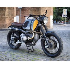 BMW R109RS P51 by Ottodrom, Rome-Italy