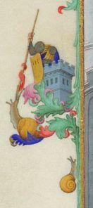 """ *shriek* "" from medieval manuscript Medieval Books, Medieval World, Medieval Manuscript, Medieval Times, Medieval Art, Renaissance Art, Illuminated Manuscript, Medieval Drawings, Doodles"