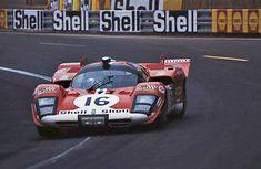 1970 24 Ore di LeMans Scuderia Filipinetti Ferrari 512 S V12/60° 4v 4994 cc S5.0 Piloti Corrado Manfredini Gianpiero Moretti