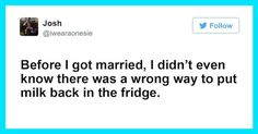 16 Hilarious Tweets About Marriage That Hit Home