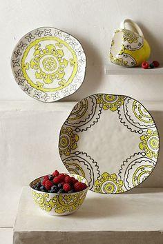 #Gloriosa #Dinner #Plate #Anthropologie