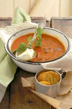 Aromatic vegetable soup