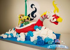 The Legend of Zelda: The Wind Waker Cake http://geekxgirls.com/article.php?ID=3176
