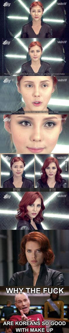 What sorcery is this? Pony Park Hye Min's transformation to Black Widow.