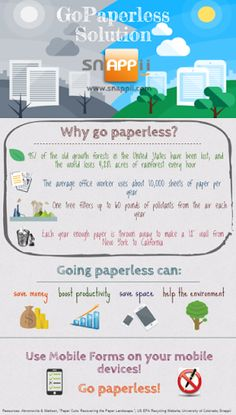 Bring your company into the paperless 21st century with GA Business Partner Snappii! Learn all about Snappii's mobile apps and paper reduction here http://www.greenalliance.biz/blog/archives/201504/local-company-helps-businesses-go-paperless