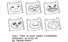 Pendelton Ward's Definitive Manual On How To Draw Finn And Jake