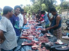 pork market @ margherita, assam