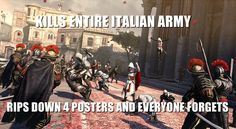 Assassins Creed Brotherhood #logic #fun