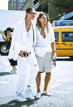J. Crew's Jenna Lyons Was the Rare Successful Designer-Street Style Star Photos | W Magazine