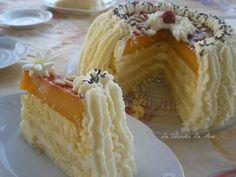 Quien me conoce sabe bien que de entre todas las tartas la de San Marcos es mi preferida, siempre la he hecho de yema tostada y de hecho...