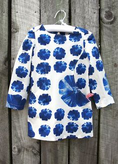 Figgy's Sunki tunic by Hazelnutgirl, via Flickr--with links to tips on sewing this pattern