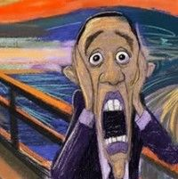 The Scream | Obama - The Scream