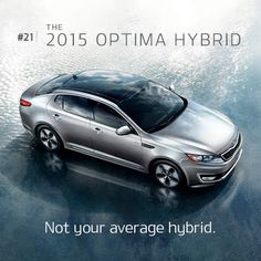 2015 Kia Optima and Optima Hybrid. It's not your average mid-size sedan.