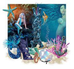 """""""Sea"""" by misisspoly on Polyvore featuring moda, Circus by Sam Edelman e Fairchild Baldwin"""