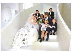 brad pitt angelina jolie kids wedding
