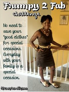Another pinner said - Frumpy 2 Fab Challenge Video - Being a SAHM doesn't mean frumpy!! http://aproverbswife.com/2012/09/frumpy-2-fab-challenge-video-plus-send-me-your-pictures.html #ProverbsWife #Marriage #Homemaking #Fashion