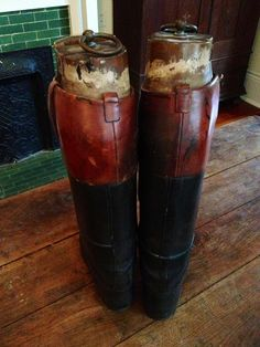 Antique Leather Men's Riding Boots English London by threefootweid, $550.00